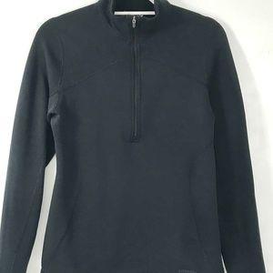 Patagonia Black Half Zip Pullover Fleece Medium